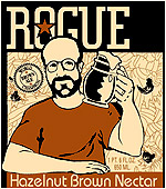 Rogue Brewery Hazelnut Brown Nectar Ale 22oz