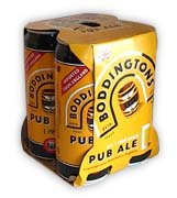 Boddington's Ale 4-pack 500ml. Cans
