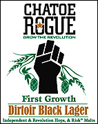 Rogue Brewery Chatoe Dirtoir Black Lager 22oz.