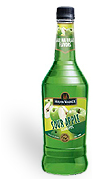 Hiram Walker Sour Apple Schnapps 1L