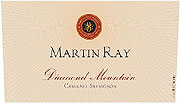Martin Ray Cabernet Sauvignon Diamond Mountain 2007