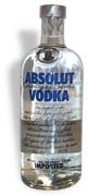 Absolut Vodka 80 proof 1.0L