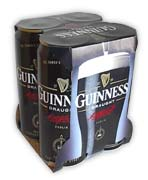 Guinness Irish Stout 4-Pack 500ml. cans