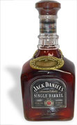 Jack Daniels Single Barrel Vintage 1996 Jimmy Bedford Autrograph