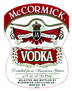 Mccormick Vodka 80 Proof