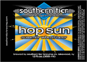Southern Tier Brewery Hop Sun Summer Wheat Beer 6 pack