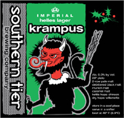 Southern Tier Brewery Krampus Imperial Helles Lager 22oz.