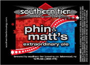 Southern Tier Brewery Phin & Matt's Extraordinary Ale 6 pack