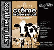 Southern Tier Brewery Crème Brulee Stout 22oz.