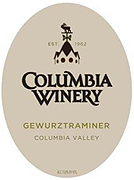 Columbia Winery Gewurztraminer 2009