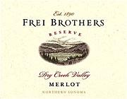 Frei Brothers Reserve Merlot 2008