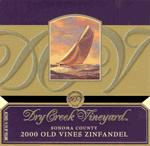 Dry Creek Vineyards Zinfandel Old Vines 2008