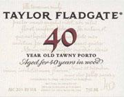 Taylor Fladgate Tawny Port 40 Year Old