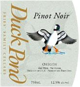 Duck Pond Pinot Noir Willamette Valley