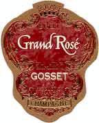Gosset Brut Grand Rose Champagne