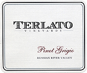 Terlato Family Vineyards Pinot Grigio Russian River 2013