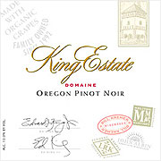 King Estate Pinot Noir Domaine Series 2008
