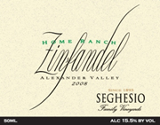 Seghesio Zinfandel Home Ranch 2008