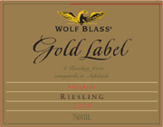 Wolf Blass Riesling Gold Label