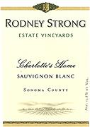 Rodney Strong Sauvignon Blanc Charlotte Home 2014