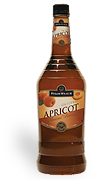 Hiram Walker Apricot Brandy 60 proof 1L