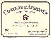 Chateau L'Arrosee 2000