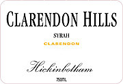 Clarendon Hills Syrah Hickinbotham Vineyard 2003