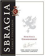 Sbragia Family Vineyards Chardonnay Home Ranch