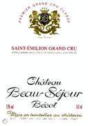Chateau Beausejour Becot 2000