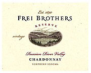 Frei Brothers Chardonnay Russian River Valley 2010