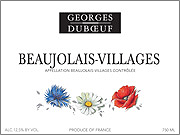 Georges DuBoeuf Beaujolais Villages Flower Label 2009