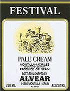 Alvear Pale Cream Sherry