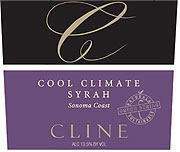 Cline Syrah Cool Climate 2010