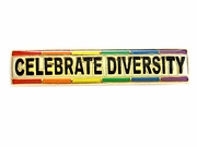 Lapel Pin Celebrate Diversity