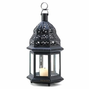 "Moroccan Style Birdcage Candle Lantern   12-1/2""h"