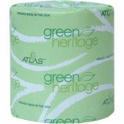 Atlas Green Heritage Toilet Tissue 2-Ply 400 sheets/Rl 96 rolls/case