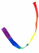 Rainbow Tube Windsock  9 FT long