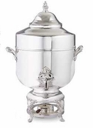 Coffee Urn Silverplated 100 Cup Capacity
