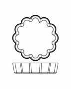 "Silicone Bakeware Tartlet Fluted 3-1/8""dia  6pc."