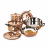 Mafter Bourgeat  Professional Grade Copper Cookware Set (8 pieces)