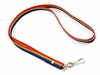 Rainbow Lanyard with Clip