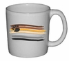 Bear Pride Flag Paintstroke Design Ceramic Mug