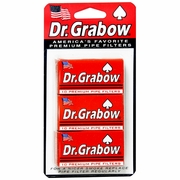 Dr. Grabow Regular Pipe Filters 3bx/card
