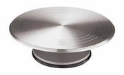 Revolving Cake Display Aluminum  11-7/8""