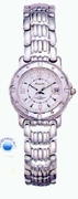 Women's  Dress Sport Silver Tone Date Watch