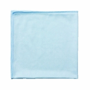 Rubbermaid Commercial Microfiber Blue Cleaning Cloths 12/pk
