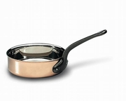 Matfer Bourgeat  Professional Grade Copper Saute Pan 7-7/8 dia.