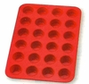 Silicone Bakeware Mini Muffin Pan   24-cup