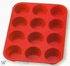 Silicone Bakeware  Muffin Pan 12-Cup