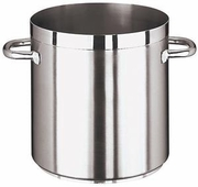 Grand Gourmet Stock Pot, Stainless Steel Tabletop Sized    3-3/8 QT